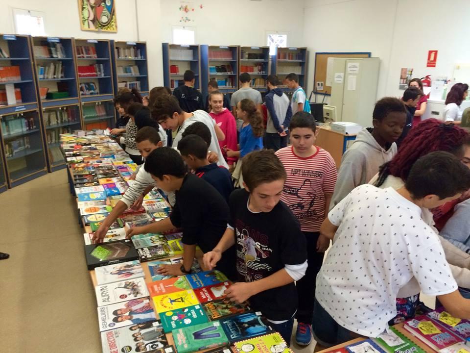 XI Feria del Libro del IES Francisco Montoya