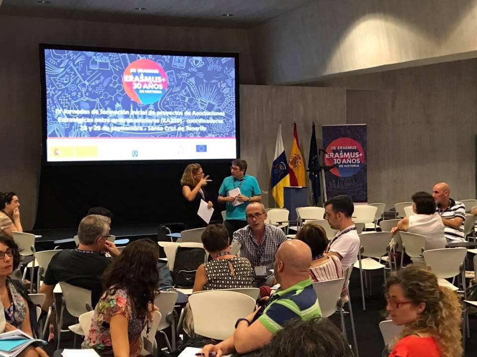 Iniciamos nuestro nuevo proyecto ErasmusPlus en Tenerife