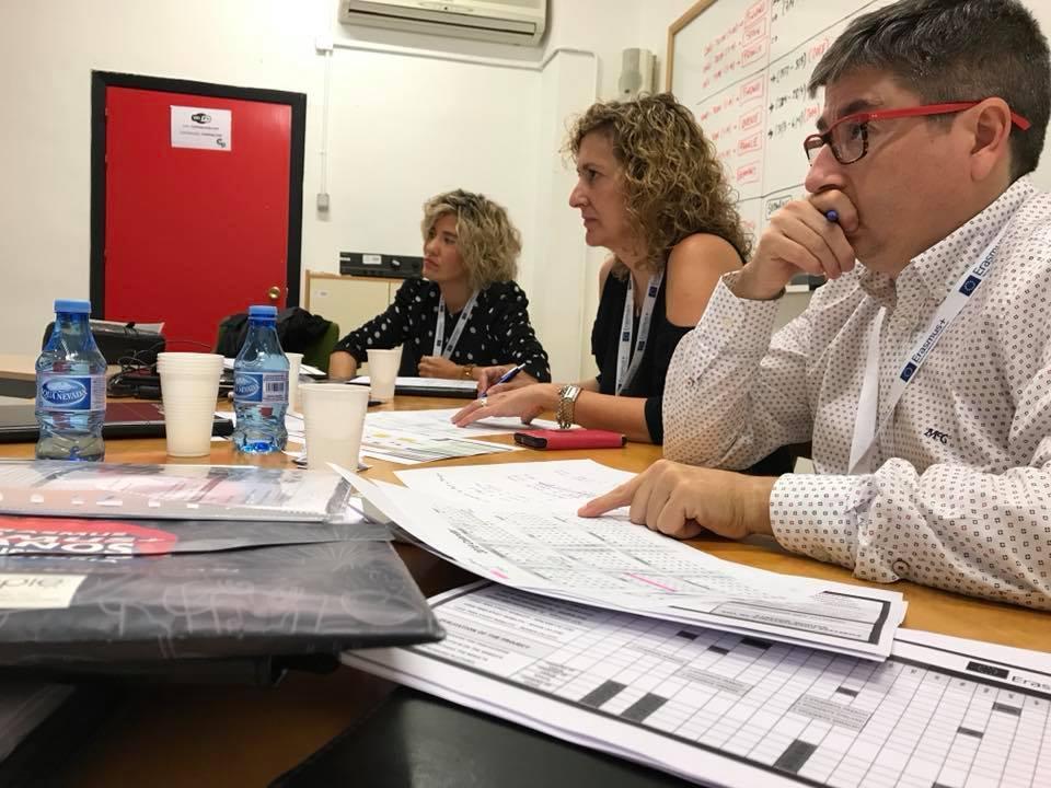 Encuentro Transnacional en España de ErasmusPlus