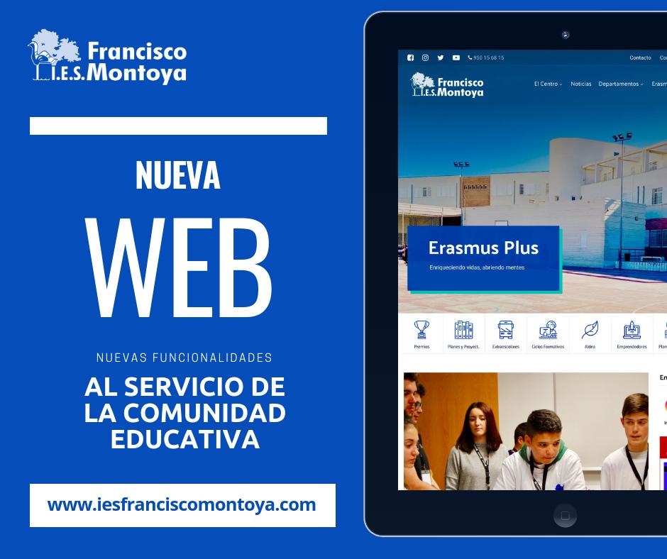Nueva Web del IES Francisco Montoya