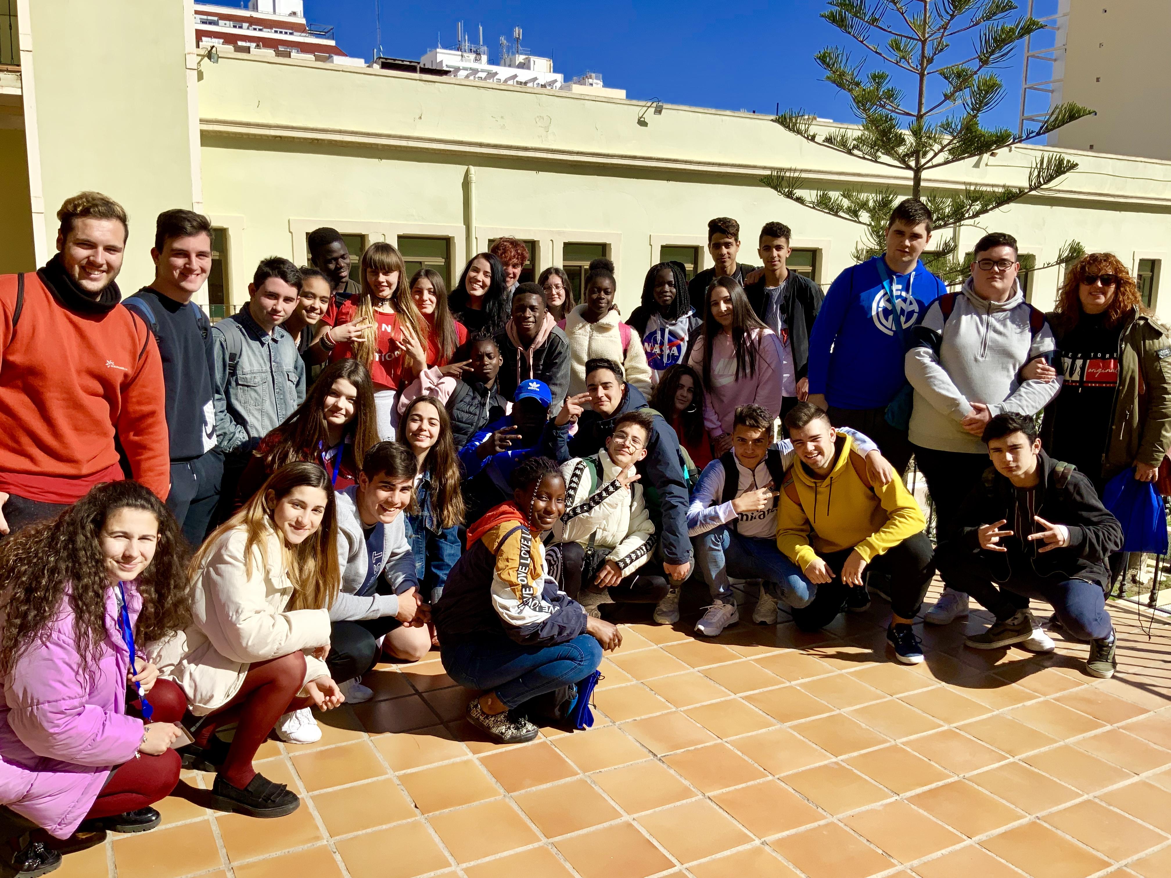 Visita a la 3º Feria Aula Empresa en Almería