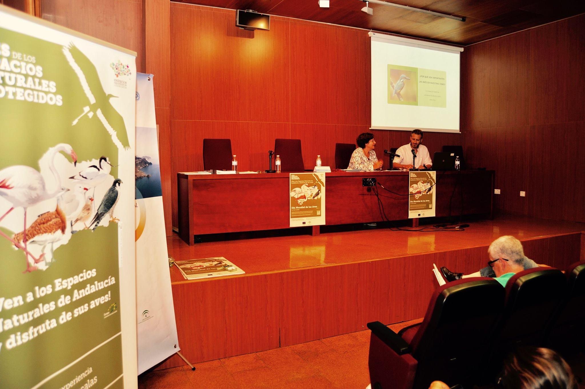 Aves y Cambio Global en Almería