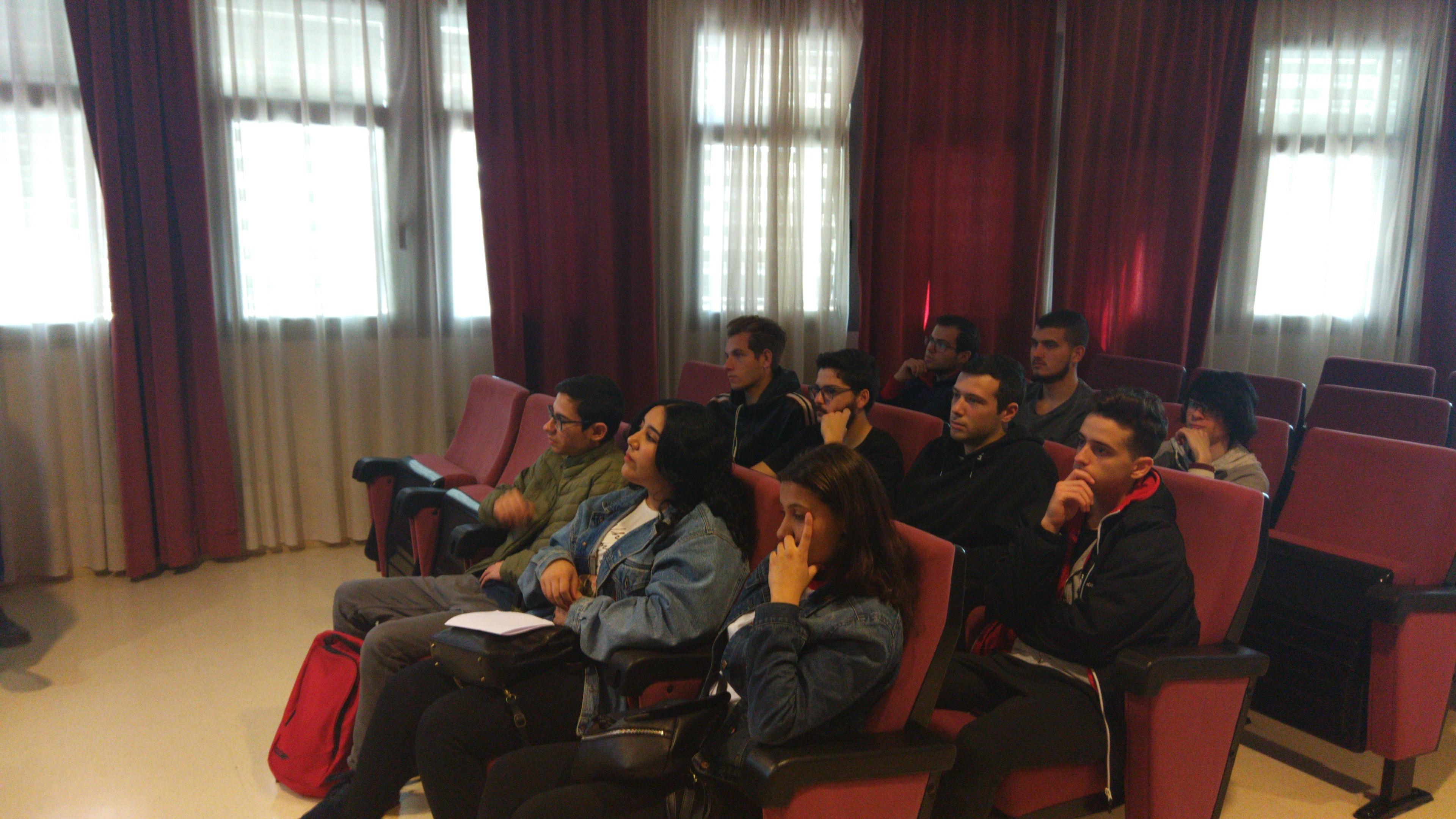 El Ciclo Formativo visita el CPD de la Universidad de Almería
