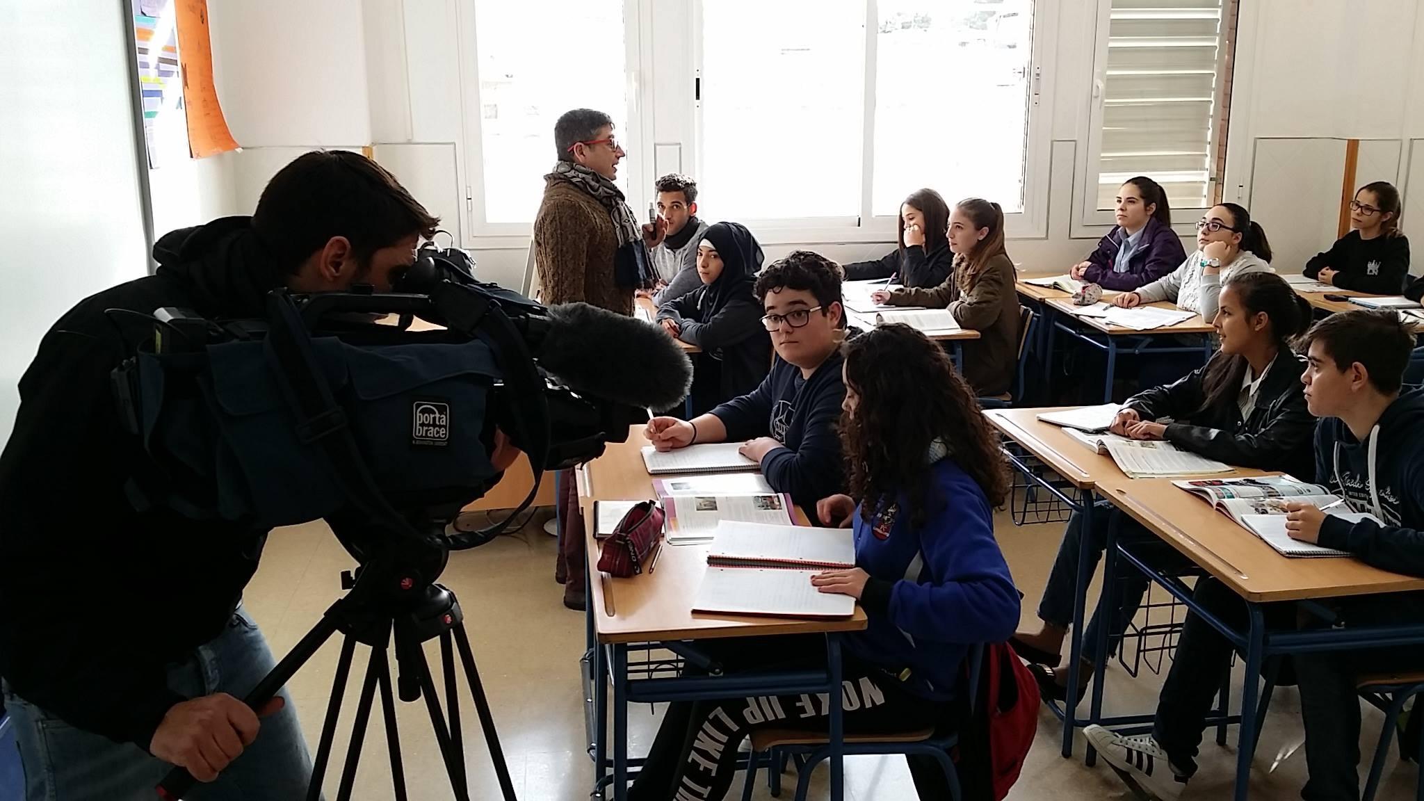 """ErasmusPlus nos lleva a La 2 de TVE por """"Europe Works By Project"""""""