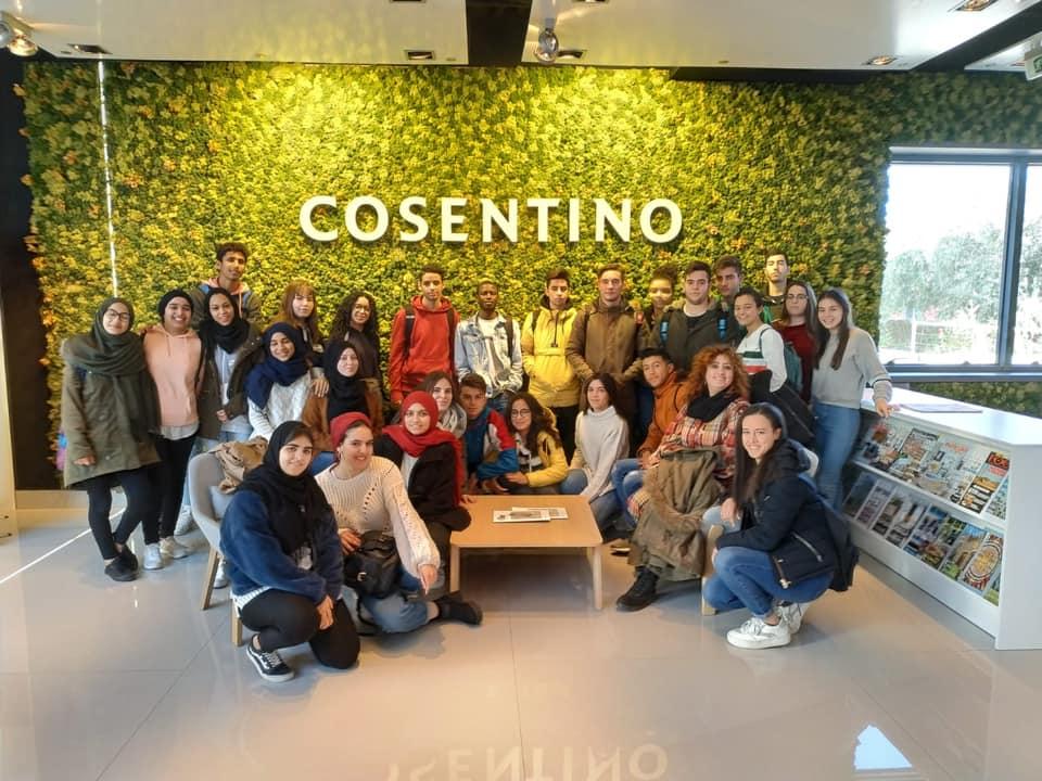 Visita a Cosentino en Cantoria
