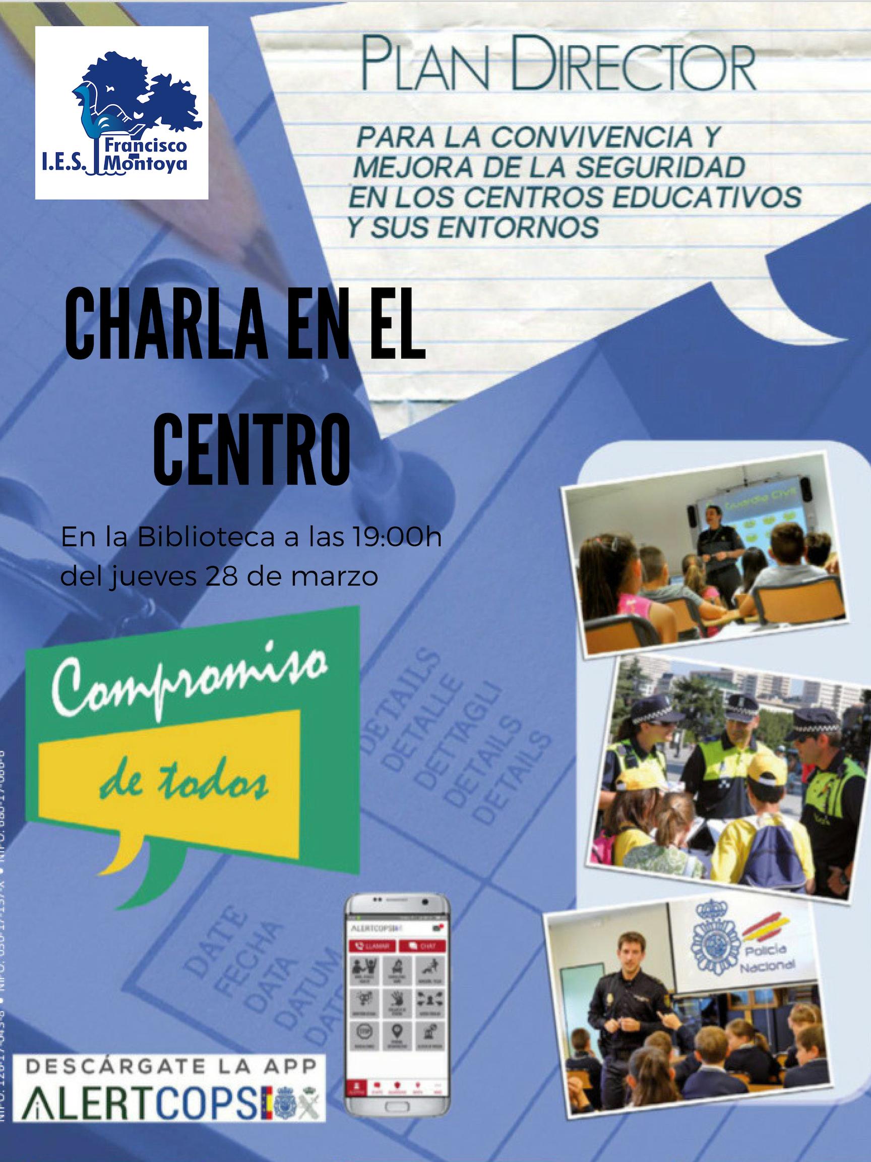 """Charla """"Plan Director para la Comunidad Educativa"""""""