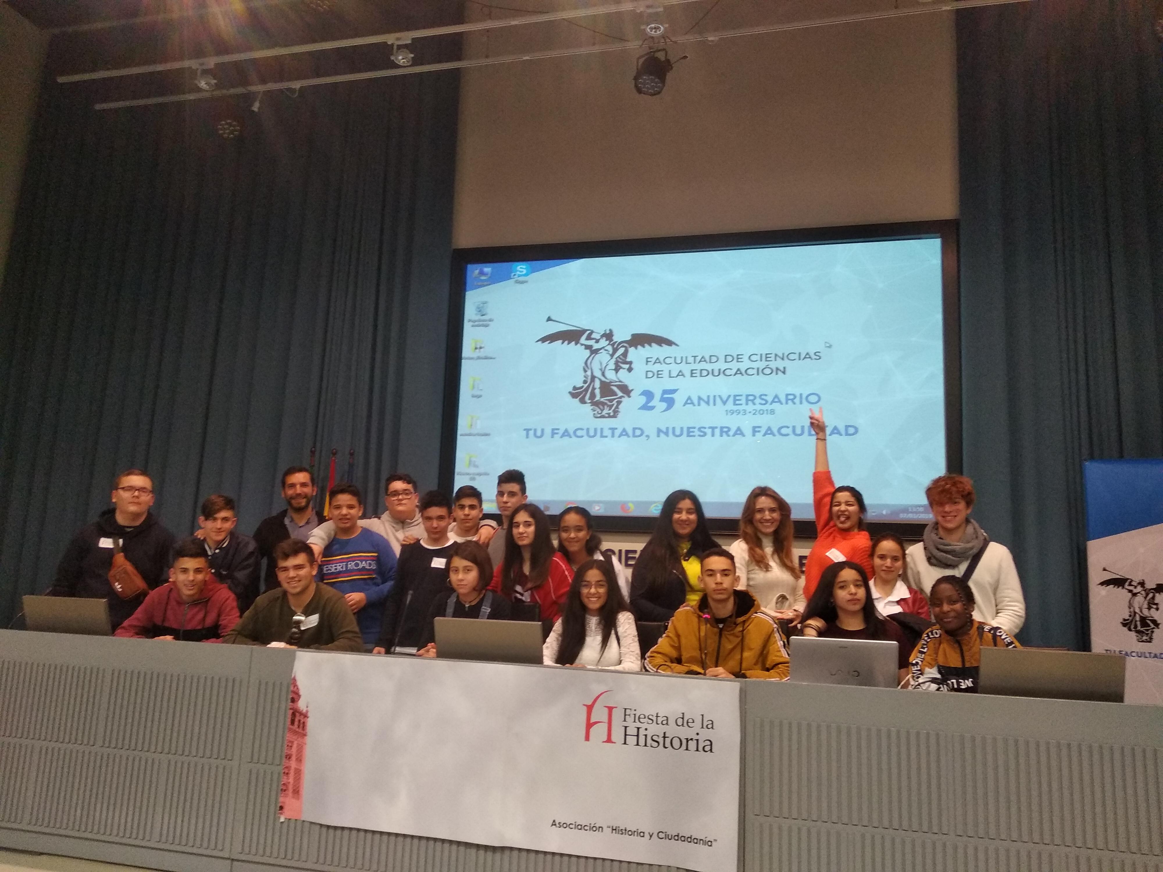 El IES Francisco Montoya participa en la Fiesta de la Historia