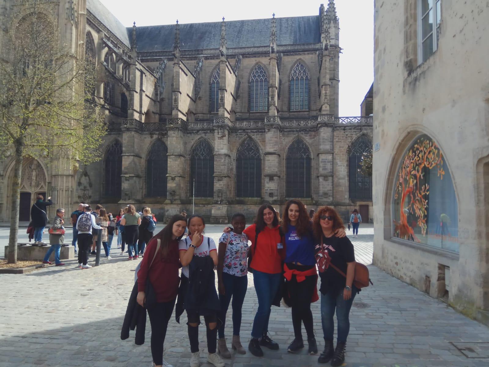 Visita Erasmus a Limoges (Francia)