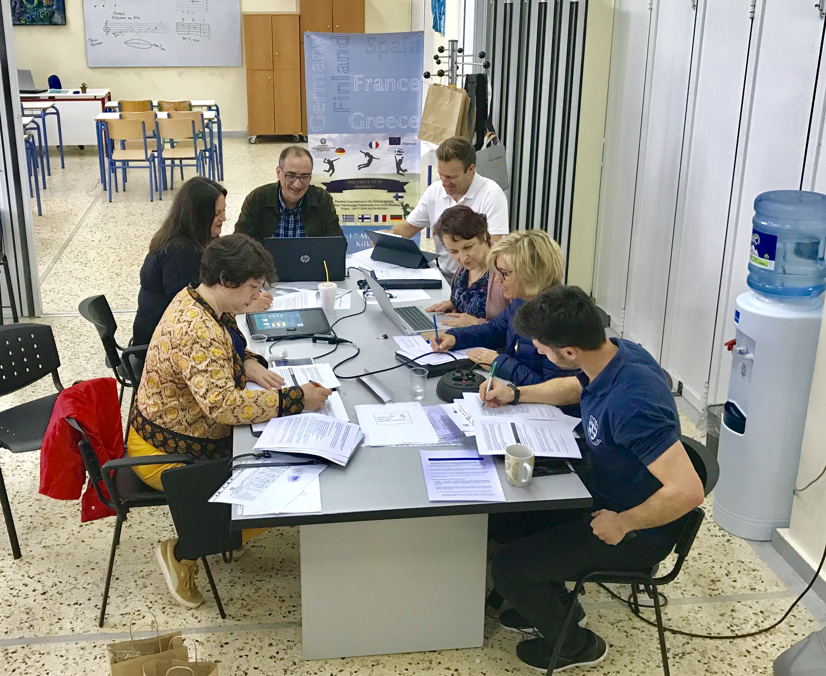 Encuentro de ErasmusPlus en Grecia por la Convivencia Positiva
