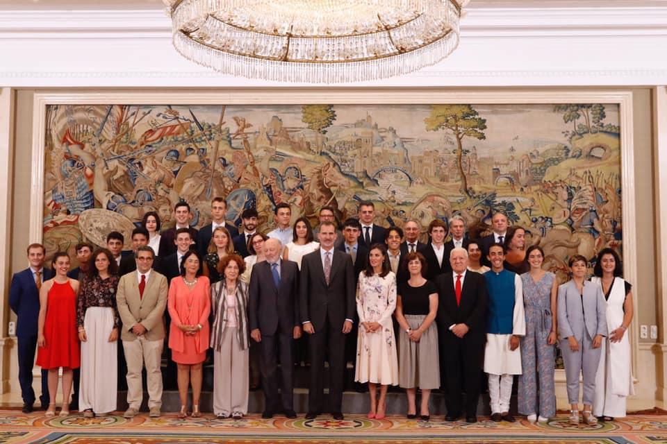 Audiencia Real en el Palacio de la Zarzuela