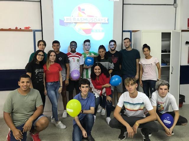 El IES Francisco Montoya celebra los Erasmus Days