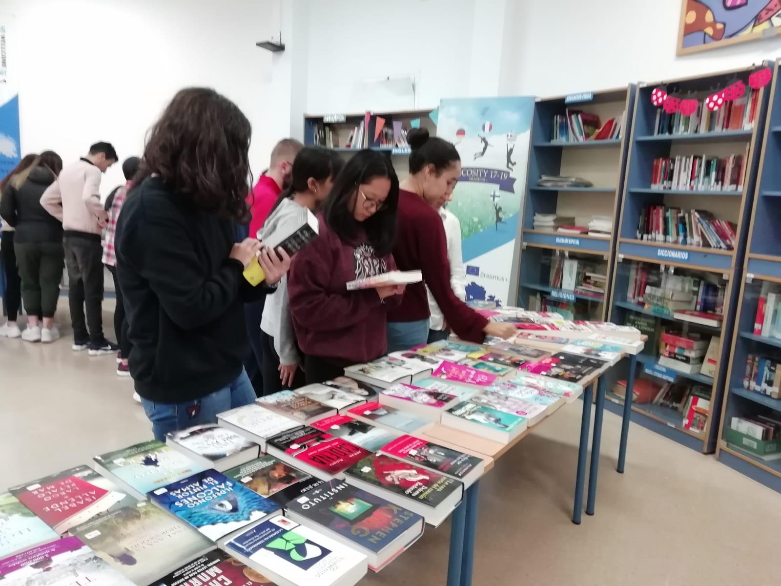 XII  Feria del Libro del IES Francisco Montoya