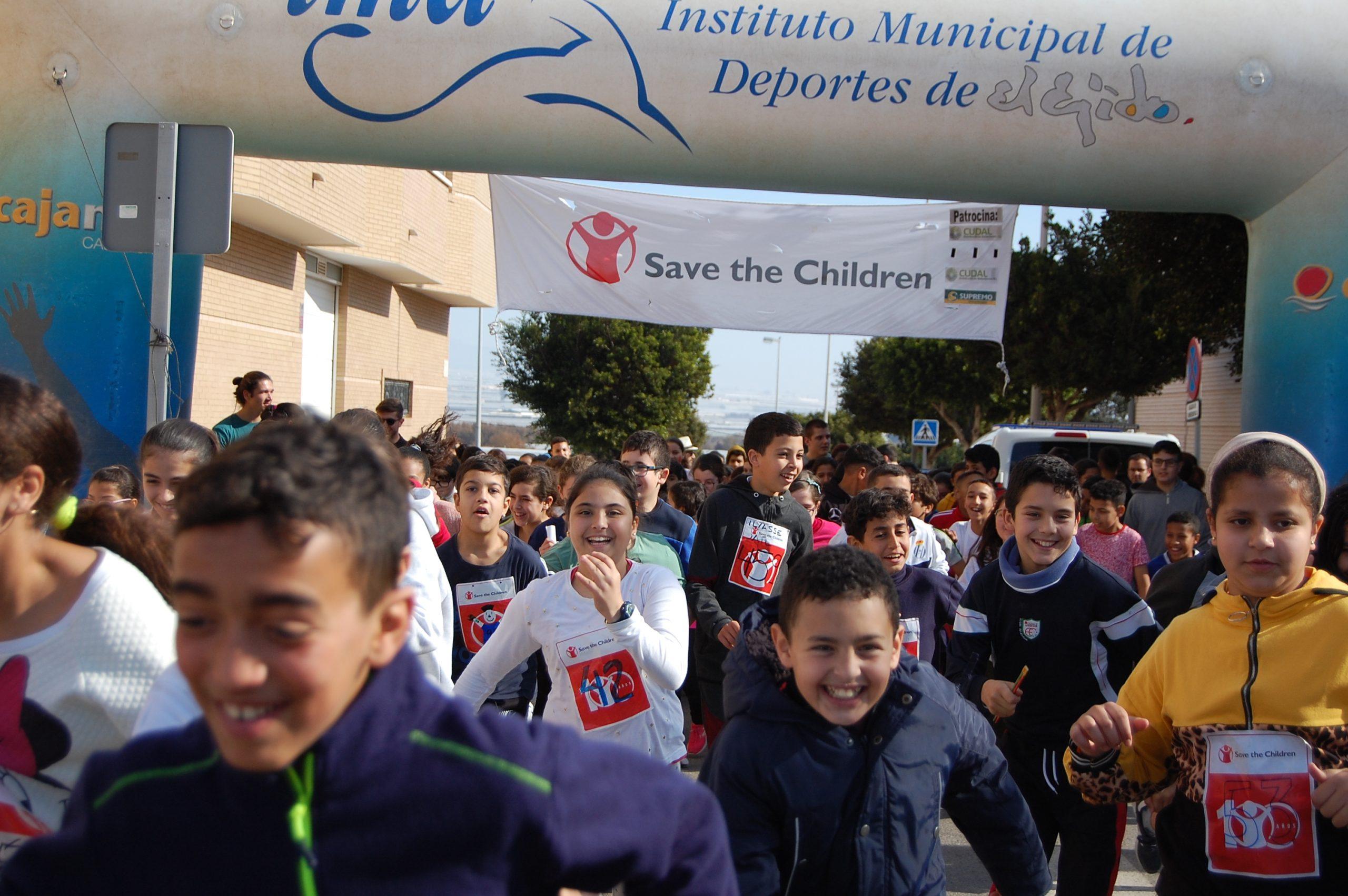 Carrera Solidaria 2020.Día escolar de la Paz y la No violencia