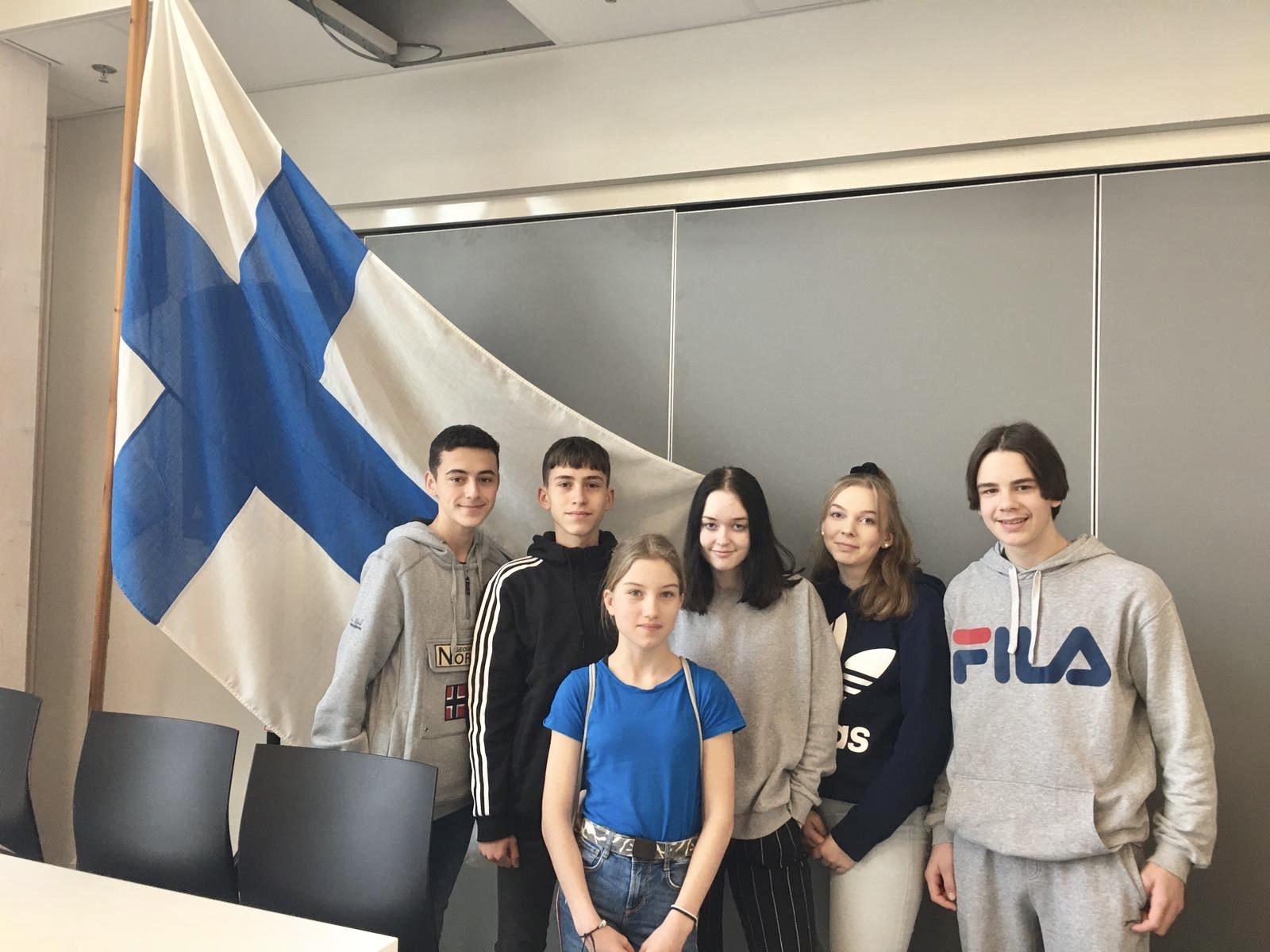 Finlandia y Educación Ambiental con ErasmusPlus