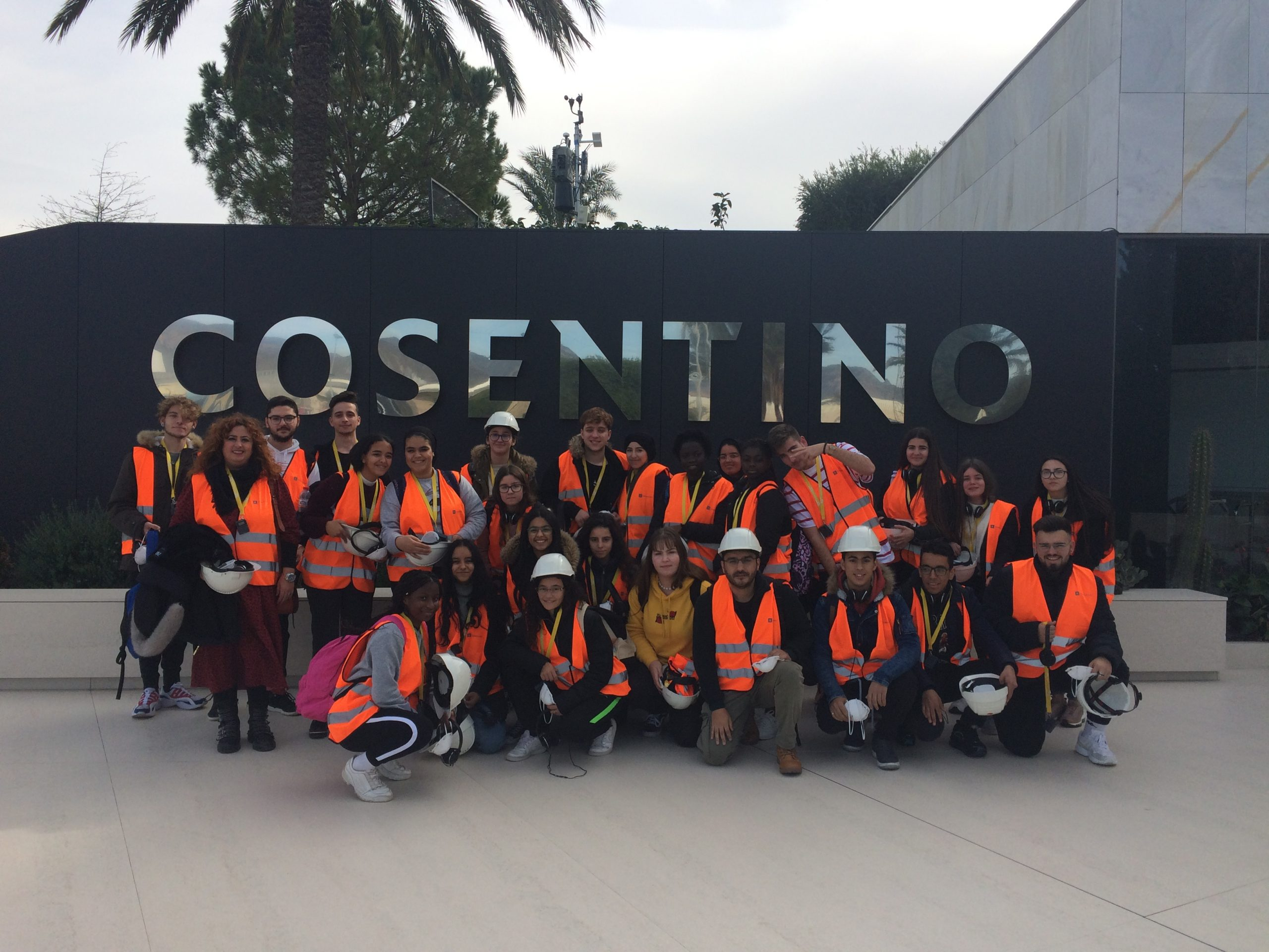 Visita a las instalaciones de la empresa Cosentino