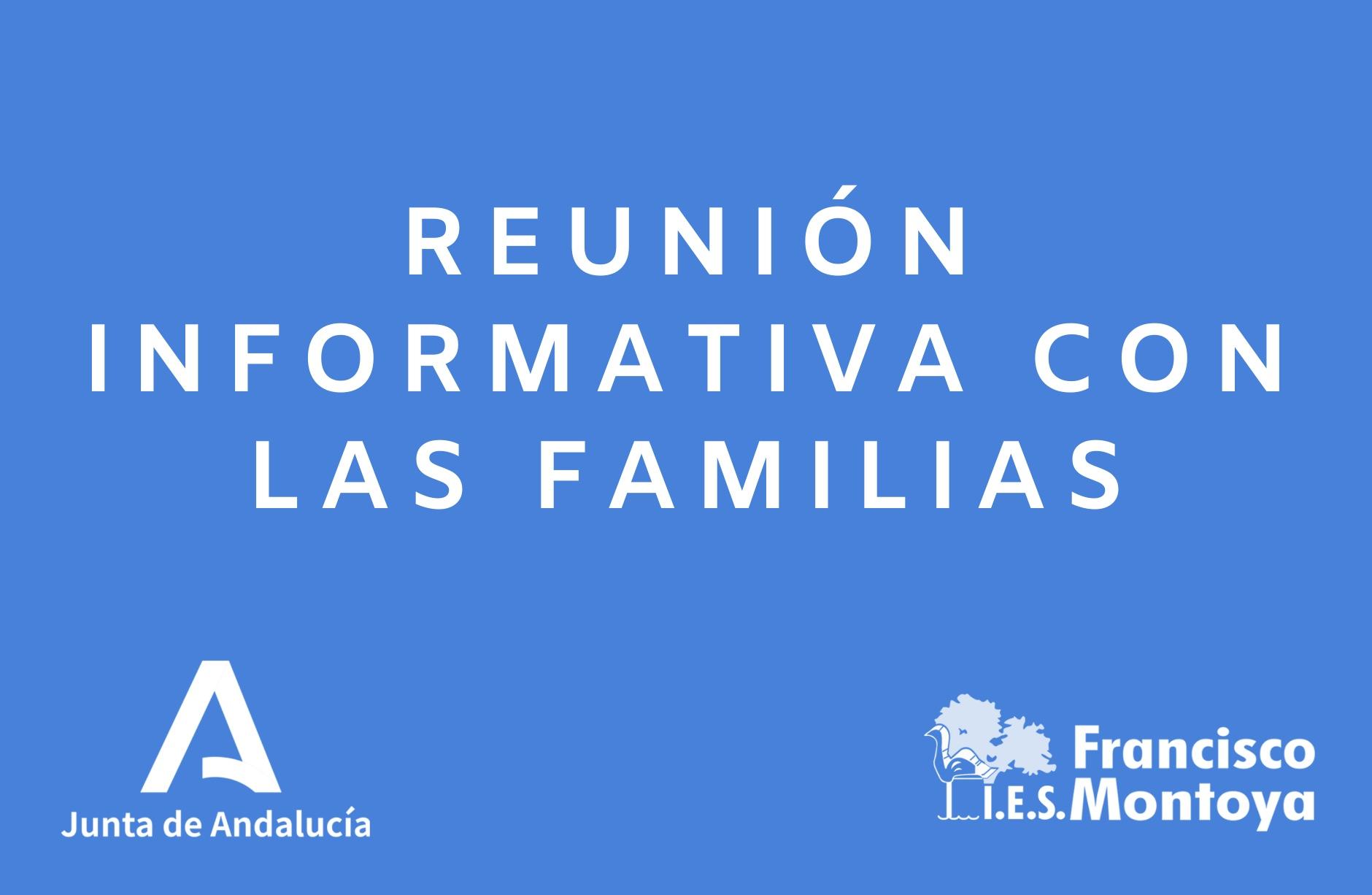 INFORMACIÓN FAMILIAS CURSO 20/21