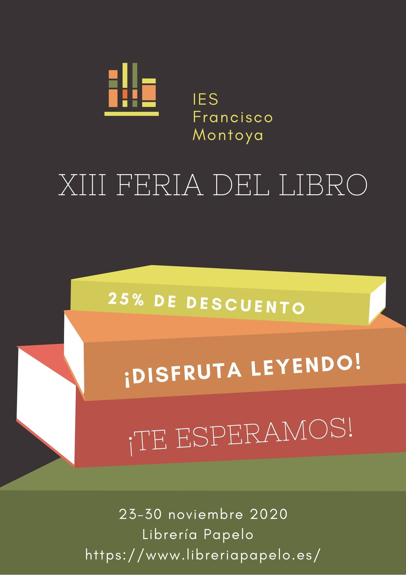 """23-30 de noviembre 2020 """"Bibliotecas, siempre a tu lado"""" Celebra y abraza la cultura"""