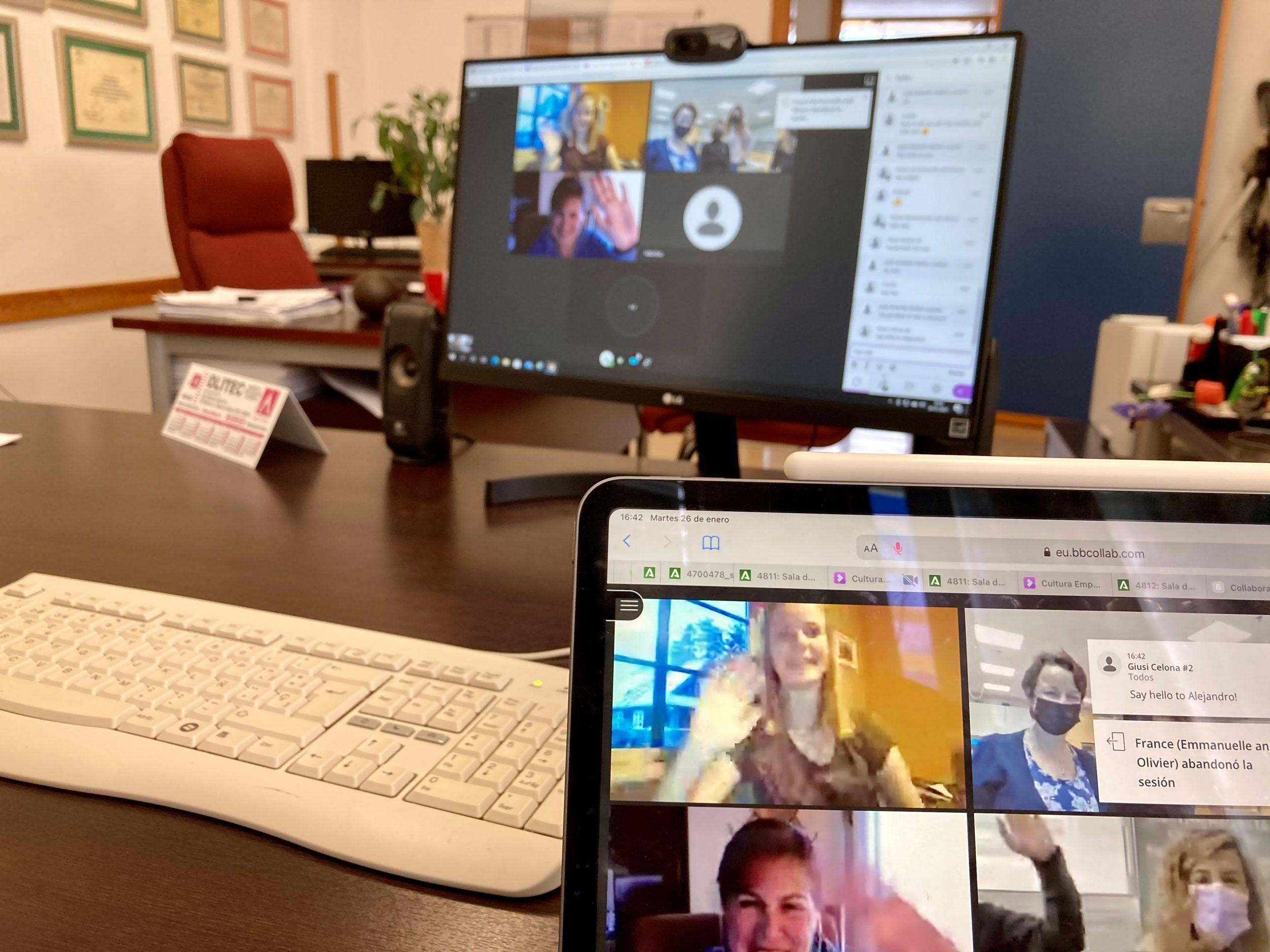 Primer Encuentro Online ErasmusPlus