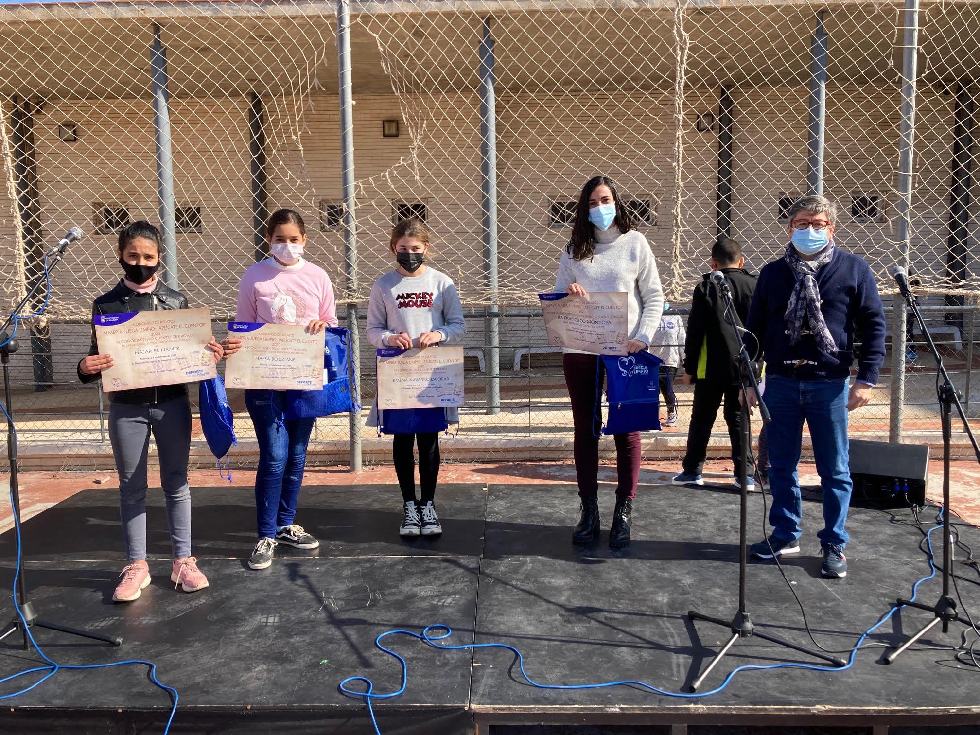 Ganadoras del Concurso de relatos de la Diputación de Almería