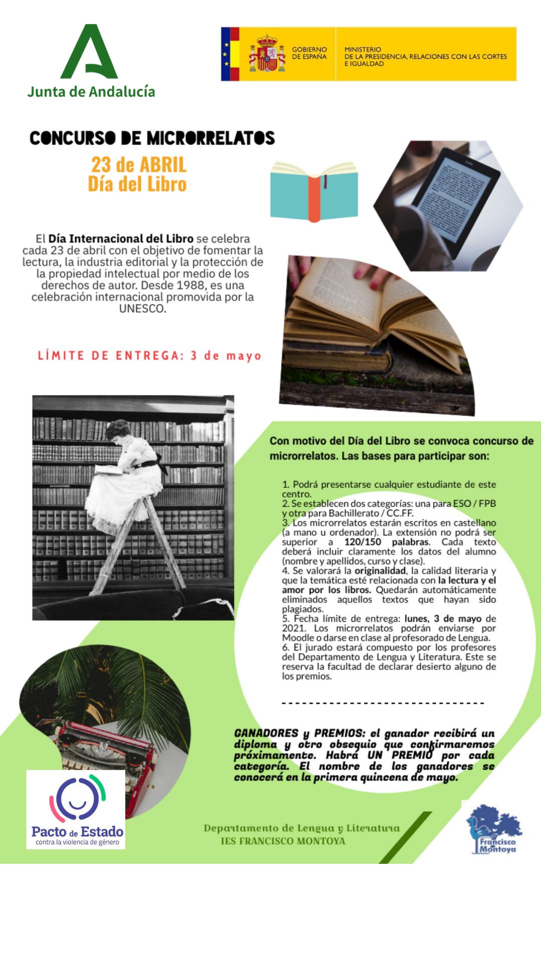 Concurso de Microrrelatos: La Lectura, el Amor a los libros